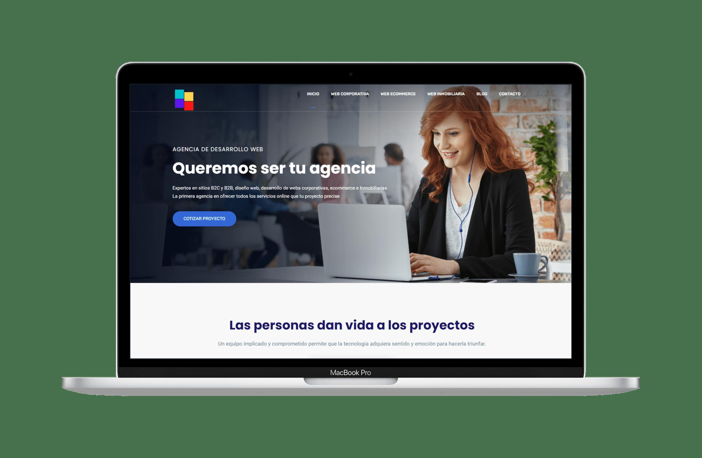 Desarrollo de Paginas Webs en Wordpress